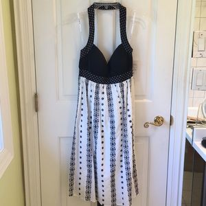 Oleg Cassini Halter dress . NEVER WORN W/tags